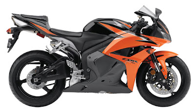 2010 Honda CBR600RR ABS Black Orange