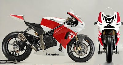 2010 Bimota HB4 Moto2 Front Side View