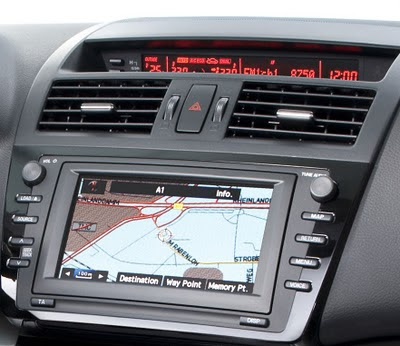 2011 Mazda6 facelift GPS View
