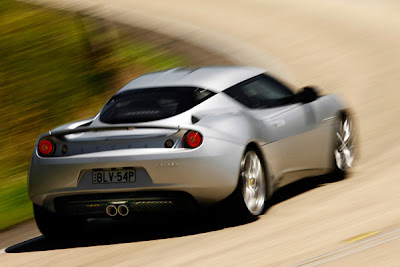 2010 Lotus Evora Rear View
