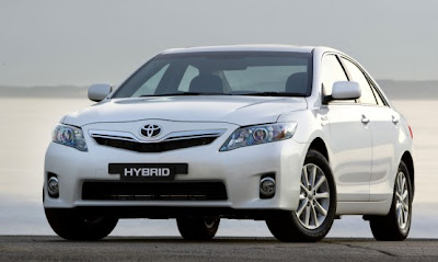 2010 Toyota Hybrid Camry Car Wallpaper