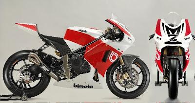 2010 Bimota HB4 Moto2 Front Side View