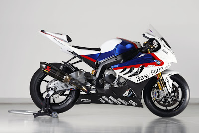 2010 BMW S1000RR Superbike Motorcycle