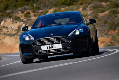 2010 Aston Martin Rapide Front View