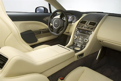 2010 Aston Martin Rapide Interior View