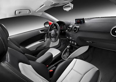 2011 Audi A1 Interior Room