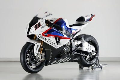 2010 BMW S1000RR Superbike Front Side View