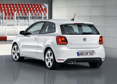 2011 Volkswagen Polo GTI Rear View