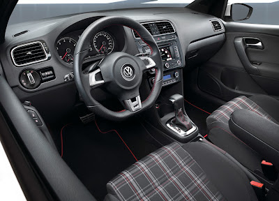2011 Volkswagen Polo GTI Car Interior