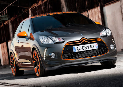 2011 Citroen DS3 R Front Angle View