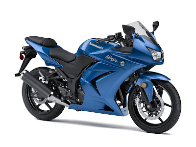 2010 Kawasaki Ninja 250R Blue Color