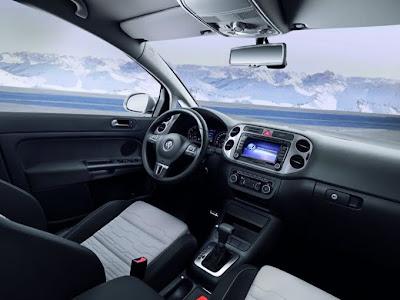 2011 Volkswagen Crossgolf Interior