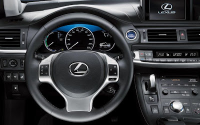 2011 Lexus CT 200h Steering Wheel