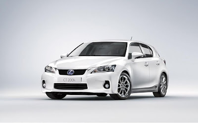 2011 Lexus CT 200h Car Wallpaper