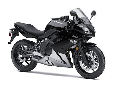 2010 Kawasaki Ninja 650R Sport Bike