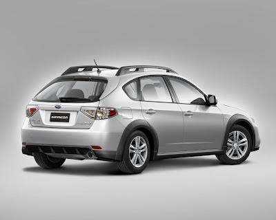 2010 Subaru Impreza XV Rear Angle View