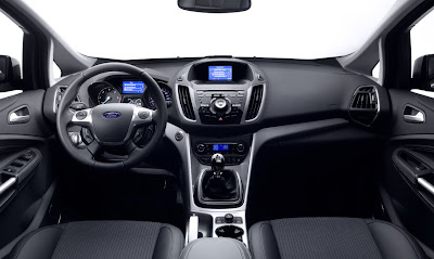 2012 Ford C-Max Interior View