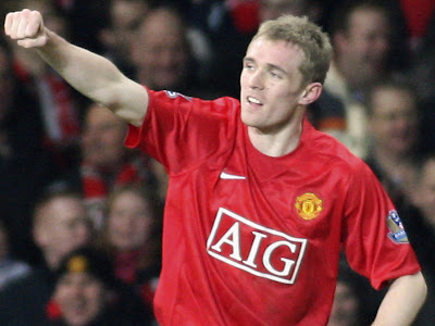 Darren Fletcher MU Football Player
