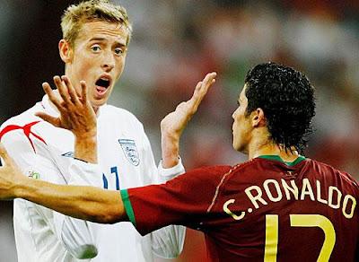 Peter Crouch Vs Cristiano Ronaldo