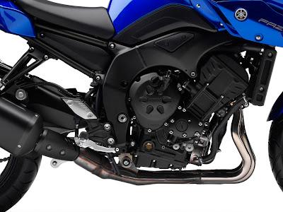 2010 Yamaha Fazer8 ABS Engine View