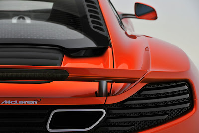 2011 McLaren MP4-12C Taillight View