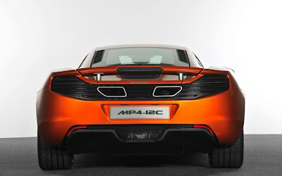 2011 McLaren MP4-12C Rear View