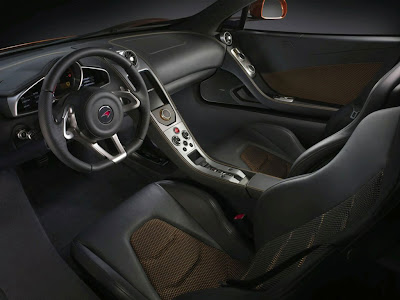 2011 McLaren MP4-12C Interior