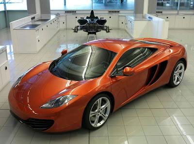 2011 McLaren MP4-12C Exotic Sport Car