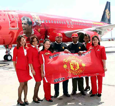 Manchester United  Air Bus