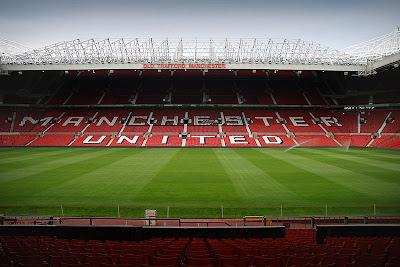 Manchester United Old Trafford Football Stadium
