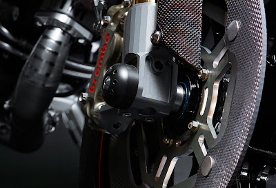 2011 Ducati Monster Titanium bike Disc Brake