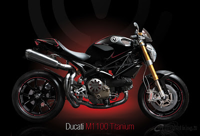 2011 Ducati Monster Titanium bike