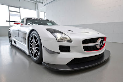 2010 Mercedes-Benz SLS AMG GT3 Race Car