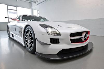 2010 Mercedes-Benz SLS AMG GT3 Race Car