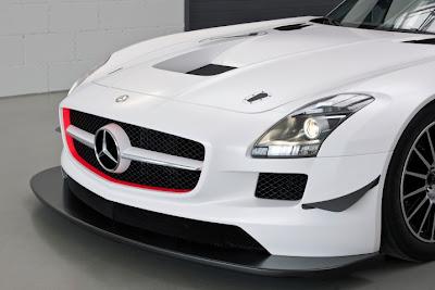 2010 Mercedes-Benz SLS AMG GT3 Headlight