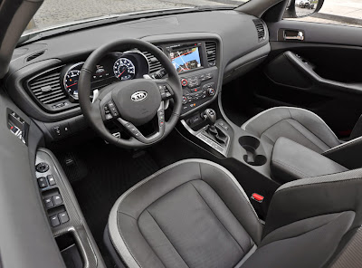 2011 Kia Optima Car Interior