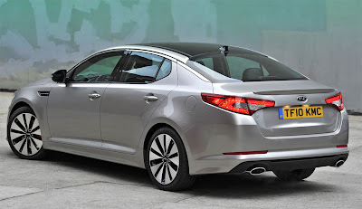 2011 Kia Optima Side View