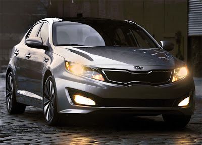 2011 Kia Optima Front View