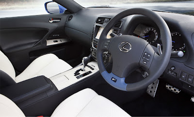 2011 Lexus IS F Car Interior