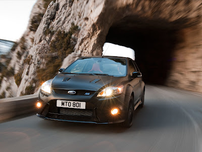 2011 Ford Focus RS500 Test Road