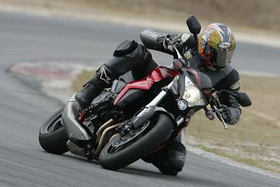 2010 Honda CB1000R Action View