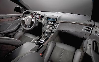 2011 Cadillac CTS-V Sport Wagon Interior