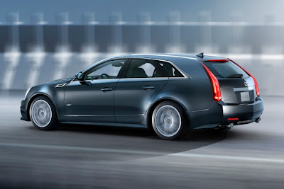 Cadillac Wagon on 2011 Cadillac Cts V Sport Wagon Rear Side View Jpg