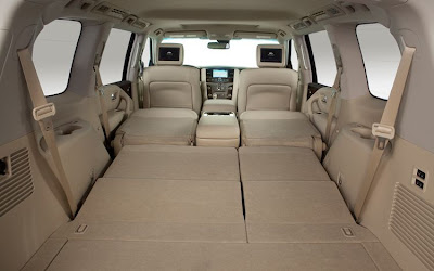 2011 Infiniti QX56 Cargo Room