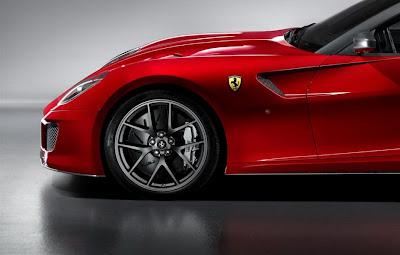 2011 Ferrari 599 GTO Left Wheel
