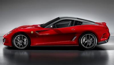 2011 Ferrari 599 GTO Side View