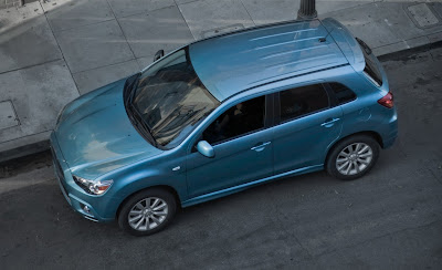 2011 Mitsubishi Outlander Sport Top View