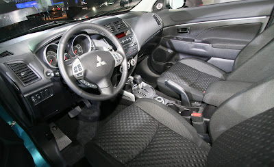 2011 Mitsubishi Outlander Sport Car Interior