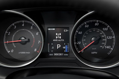 2011 Mitsubishi Outlander Sport Gauges
