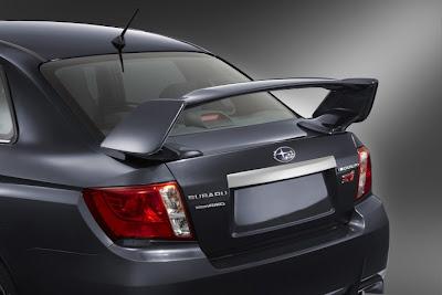 2011 Subaru Impreza WRX STI Rear End